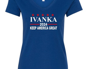 Ivanka 2024 Women's V-neck