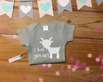 Baby Goat Onesie