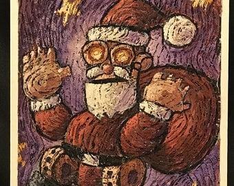 Fiber Optic Santa