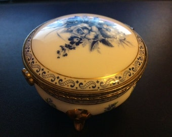 Leonardo Collection round trinket box