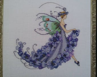 New Wisteria Mirabilia Pattern/Beads - Pixie Blossom Collection by Nora Corbett