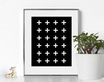 Elegant Art Elegant Bathroom Art Digital Download Black and White Printable Office Prints Cubicle Decor Office Printable Art Cubicle Art