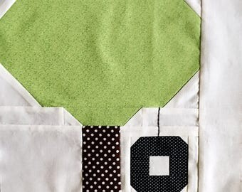 Tire Swing Quilt Block