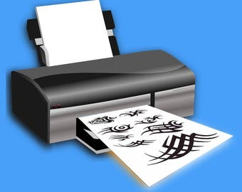 Fake Tattoo Paper - create your own temp tattoos from home printer
