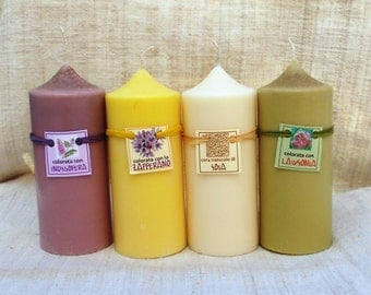 Soy wax candles-Cylinder