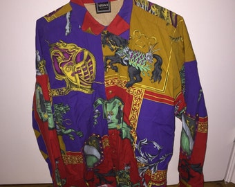 Vintage 90s GIANNI VERSACE Couture Versace Shirt