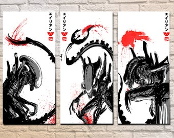 Xenomorph Set - 11 x 17 Prints
