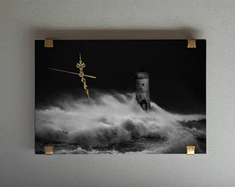 Exclusive wall clocks-the sleep of fisherman, wall clock