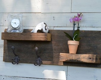 Barn Wood Shelf, Floating Wall Shelf, Farm House, Barn Wood from North Carolina
