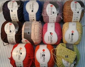 Yarn Amara Yarn Gedifra Yarn cotton Yarn Italian Yarn Germany