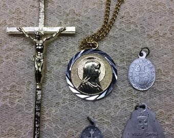 Religious Medal Set