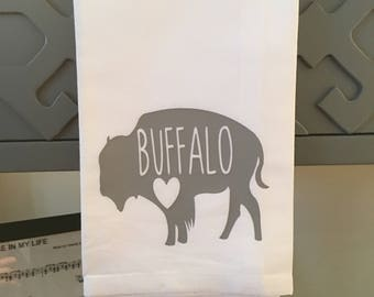 BUFFALO Tea Towel