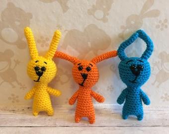 Crochet bunny, amigurumi bunny, keychain bunny, animal bunny toy, stuffed bunny, soft bunny, bunny, crochet rabbit, amigurumi rabbit, rabbit
