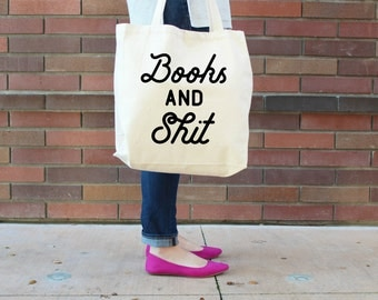 Books and Sh## Canvas Tote Bag