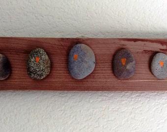 Stone Birds on a Copper Wire