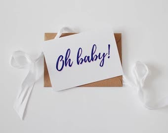 SALE! New Baby Card | Baby Shower | Pregnancy | Expecting