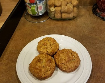 Power Muffins - 4 Pack - Fresh Baked Healthy All Natural Muffins