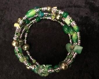 Green memory bracelet