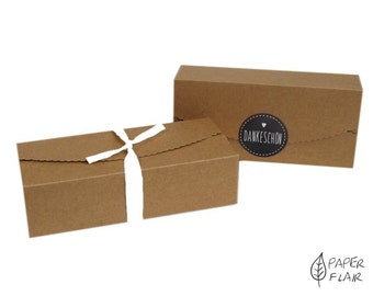2 boxes gift boxes nature (HF-9)