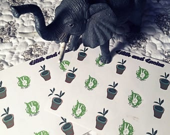Vegan Planner Stickers