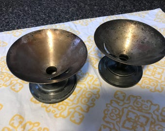 Vintage Silverplate Snow Cone Holders