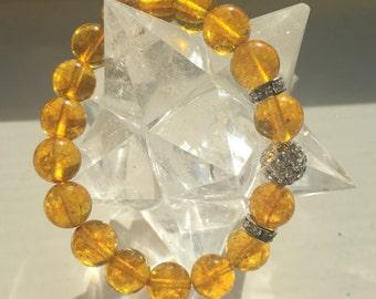 The Master Manifester Citrine Healing Bracelet
