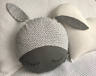 Sleepy Bunny Decor Cushion