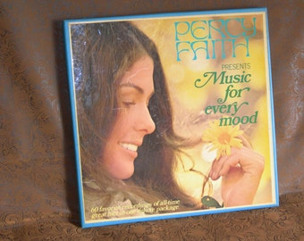 Percy Faith/ Music For Every Mood/ 5 Record Box Set/ 60 Original All Time Hits/ Columbia Special Products CSS 1175/ Stereo CBS Records