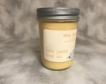 Freshly Squeezed Orange Juice Soy Candle