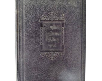 Allentown Conference History 1926 Hardcover Book