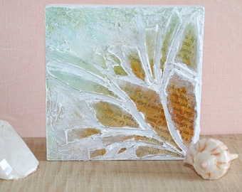 Seaside Bloom - Cut Glass Mosaic Art