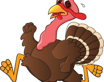 Thanksgiving Scared Turkey