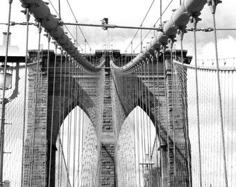 On the Bridge - Brooklyn Bridge