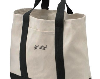 Got Wine?® Canvas Tote Bag