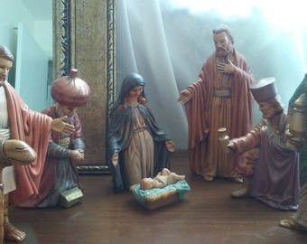 Nativity 8 Piece Set
