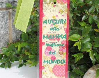 Mother's day bookmark - Segnalibro per la festa della mamma