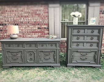 Sold***Epic Elegance Thomasville Dresser and Chest-East TN Area Pickup Only
