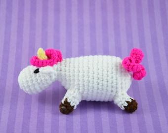 crochet, fun Unicorn