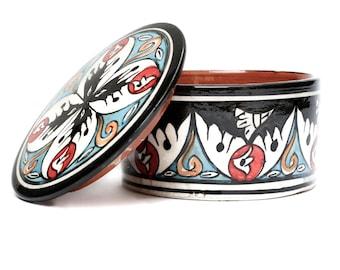 Kasbah Jewellery Pot, Black