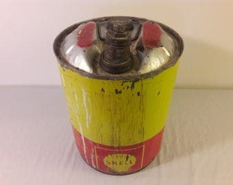 1940s Shell 5 Gallon Gas Can