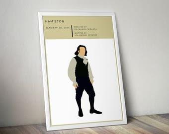 Hamilton, Hamilton Musical, Alexander Hamilton, Hamilton Print, Hamilton Broadway, Hamilton Lyrics, Christmas Gift, Dorm Decor