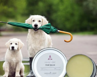 Paw Balm, Pet Balm, Handcrafted In The USA, Paw Butter, Rough Paw Pads, Pet Salve, Nose Balm, Pet Paw Protection, Pet Nose Protection