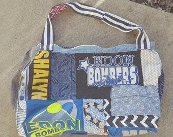 Patchwork Sports (reversible) bag