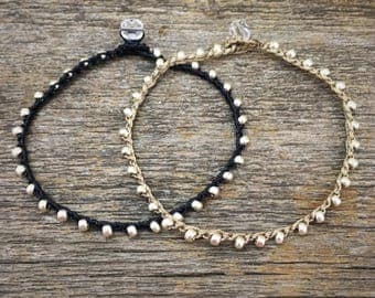 The Collector's Bracelet - Boho Chic rustic jewelry charm bracelet