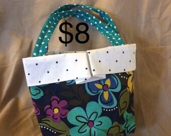 floral child's bag
