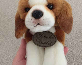 Plush beagle dog yomiko classics