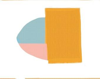 Art Book contemporary geometric digital prints #6