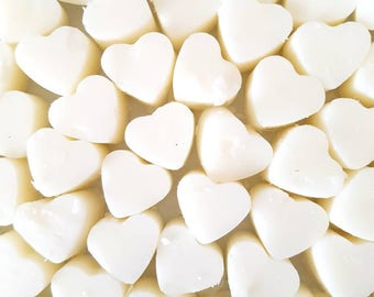 Jasmine Heart Shaped Wax Melts/Scented Wax/Wax Tarts/Gifts For Her/Home Fragrance/Birthday Gifts/Candle/Soy Wax/Vegan Friendly/Cruelty Free