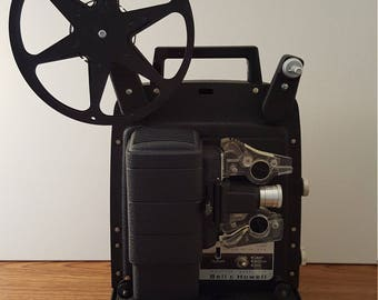 Bell & Howell Model 256 8mm Movie Projector (c. 1960's)