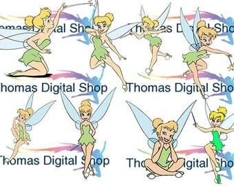 Tinkerbell clip arts